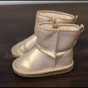 Gap Gold Warm Boots
